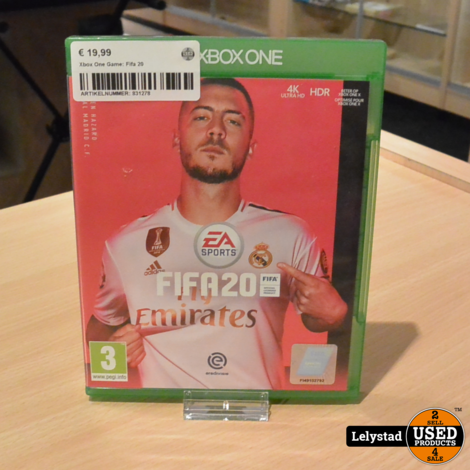 Xbox One Game: Fifa 20
