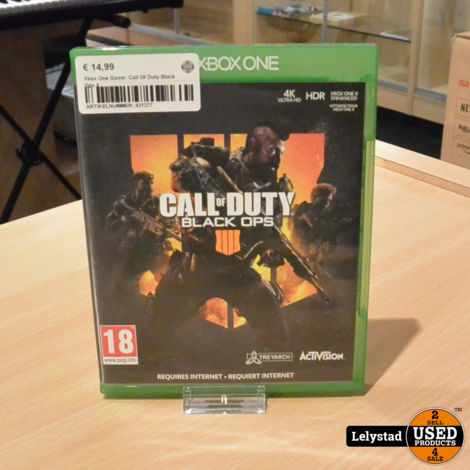 Xbox One Game: Call Of Duty Black Ops 4