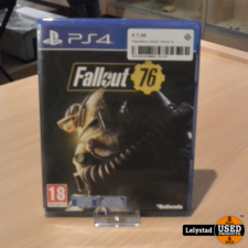 Playstation 4 Game: Fallout 76