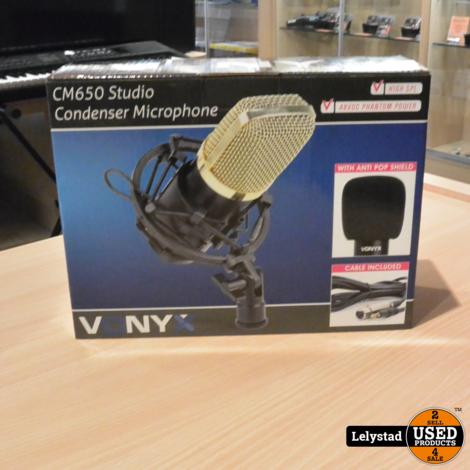 Vonyx CM400B Studio Microfoon | Nieuw in doos