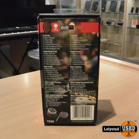 Weber iGrill Mini Thermometer   Nieuw geseald in doos