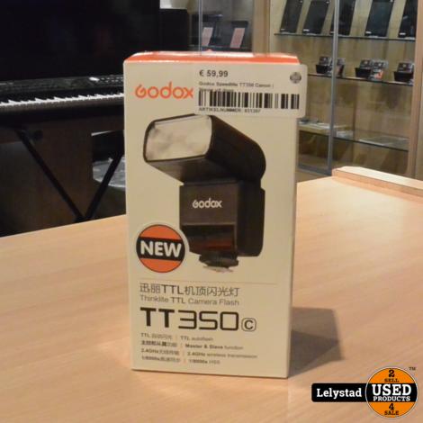 Godox Speedlite TT350 Canon   Nieuw uit doos