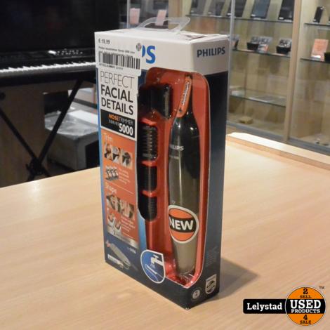 Philips neustrimmer Series 5000 voor neus, hals en bakkebaarden | Nieuw