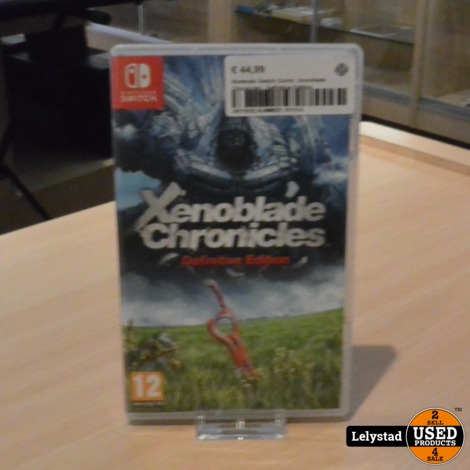 Nintendo Switch Game: Xenoblade Chronicles - Definitive Edition