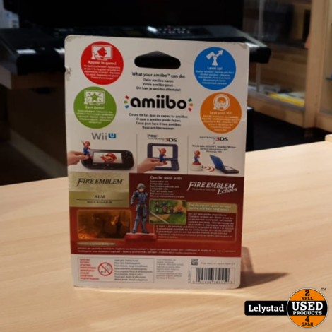 Amiibo Fire Emblem Collection Alm Switch 3DS | Nieuw in doos