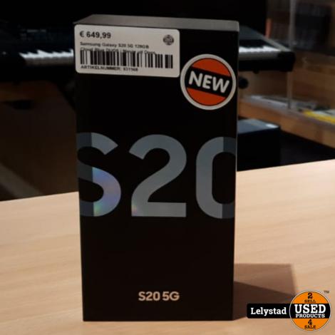 Samsung Galaxy S20 5G 128GB Cloud Blue DUOS | Nieuw uit Doos