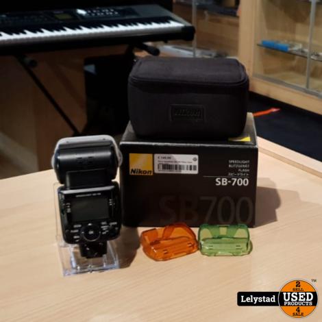 Nikon Speedlight SB-700 Filtser Zwart | Nette staat