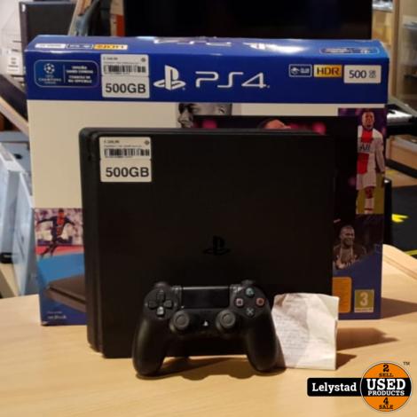 Playstation 4 Slim 500GB Zwart Incl: 1 Controller Zwart | Nieuwstaat + Bon