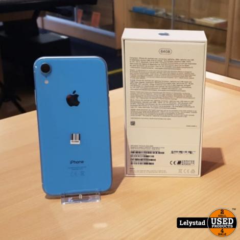 iPhone Xr 64GB Baby Blauw   Nieuwstaat