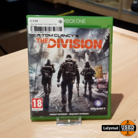 Xbox One Game: Tom Clancy's The Division