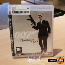 Playstation 3 Game: 007 Quantum Of Solance