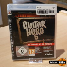 Playstation 3 Game: Guitar Hero 5