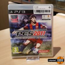 Playstation 3 Game: Pes 2011