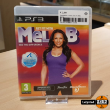 Playstation 3 Game: Get Fit With Mel-B