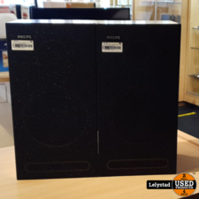 Philips F9234/OOP 8 OHM Bruin Set van 2 Stuks   Redelijke staat