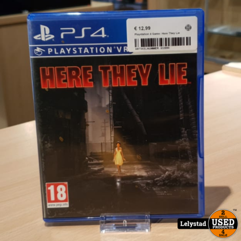 Playstation 4 Game: Here They Lie (VR Game)
