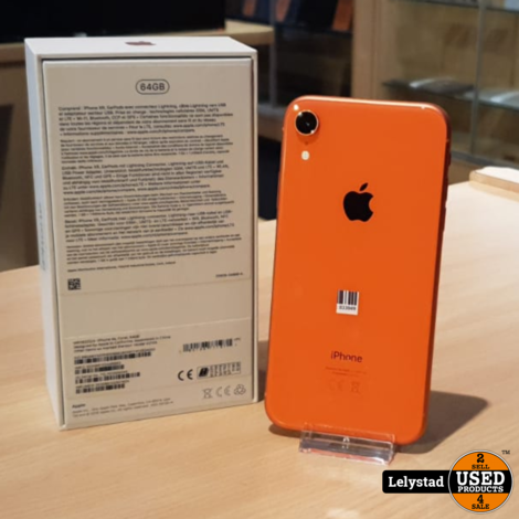 iPhone XR 64GB Coral | Prima staat