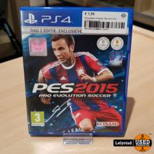 Playstation 4 Game: Pes 2015 Pro evolution soccer