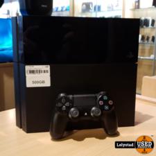 Playstation 4 500GB Zwart Incl: 1 controller Zwart | Nette staat