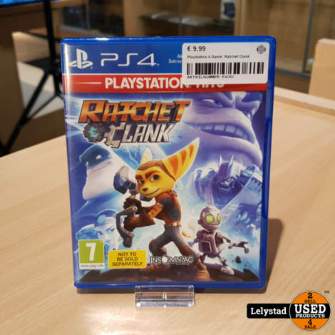 Playstation 4 Game: Ratchet Clank