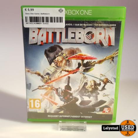 Xbox One Game: Battleborn