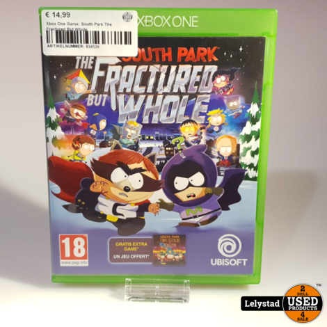 Xbox One Game: South Park The Fractured But Whole