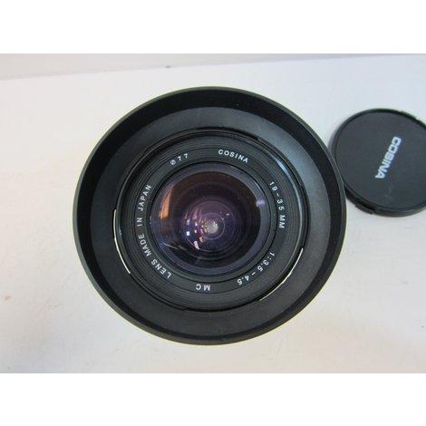 Cosina 19-35mm Groothoek Zoomlens [Elders € 125,-]