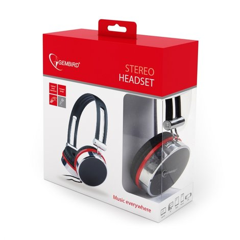 GEMBIRD MHS-903 stereo headset  (elders €. 27,99)