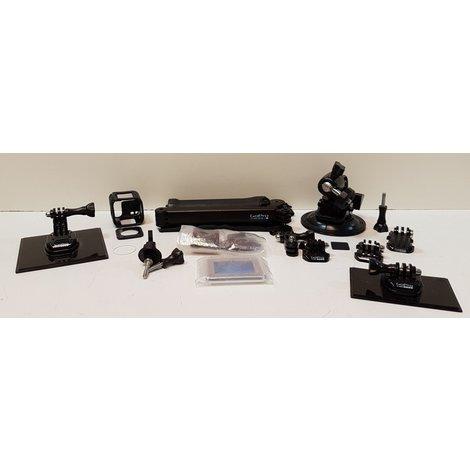 Set Van Diverse GoPro Hero 4 Accessoires (nieuwwaarde € 75,-)