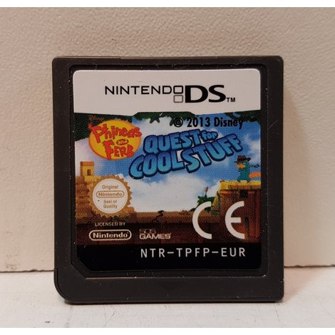 Phineas & Ferb - Quest For Cool Stuff [N-DS] | Losse Cartridge