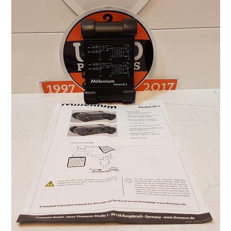 Thomann Millenium Pocket DI 2 (nieuwprijs € 35,-)