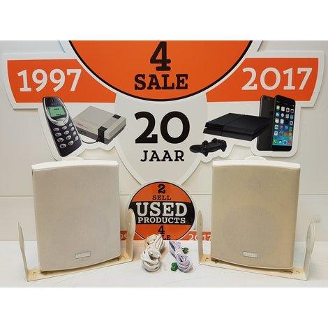 Apart SDQ5P Speakerset | Wit (nieuwprijs € 184,-)