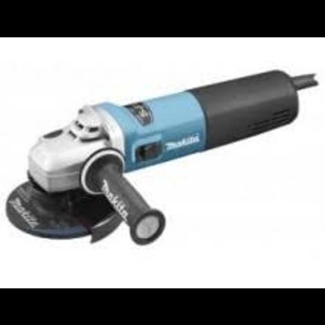 MAKITA 9565PC01 haakse slijper 125 mm. 1.400 watt