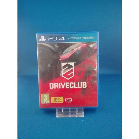 Driveclub- Ps4