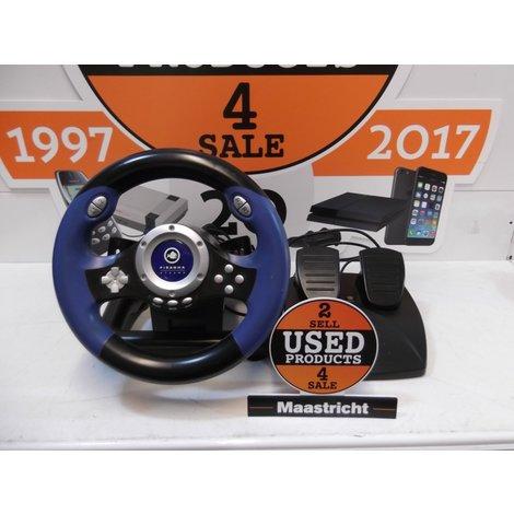 PS2 V8 Plus Racer Steering wheel