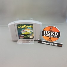 wipeout nintendo 64 game losse cassette