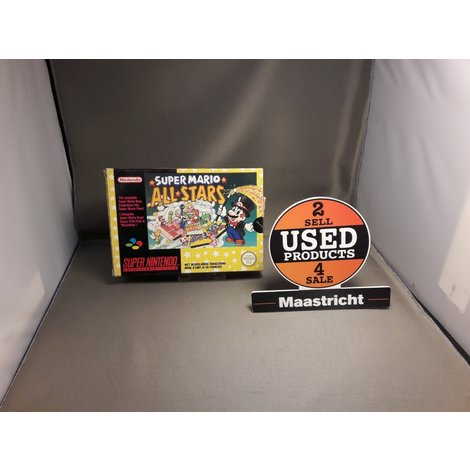 Super Mario All Stars Super Nintendo game (in doos)