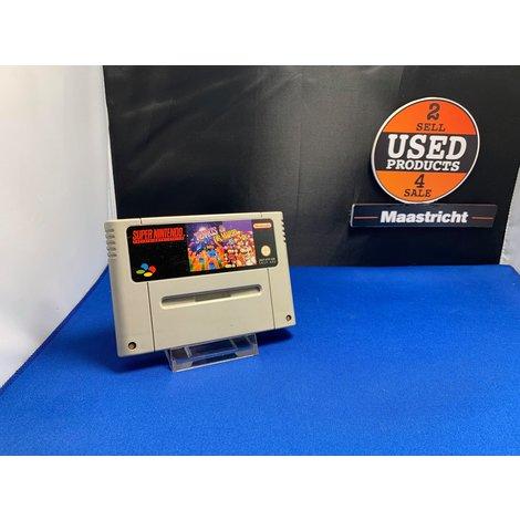 Tetris & Dr. Mario (losse cassette) || Super Nintendo