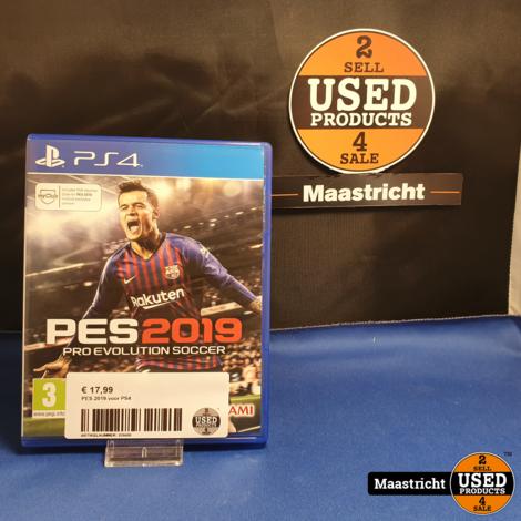 PES 2019 - PS4 || elders gezien voor € 22,99