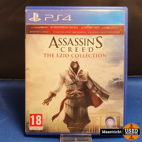 Assassin's Creed The Ezio Collection - PS4 || nieuwprijs € 19.99