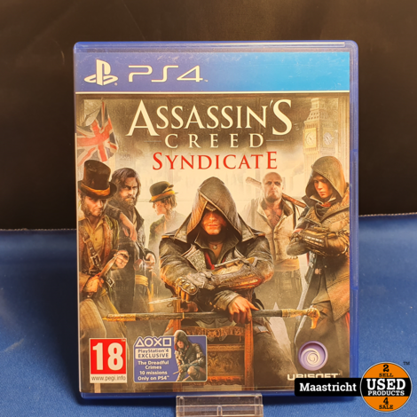 Assassins's Creed Syndicate - PS4 || elders € 14.99