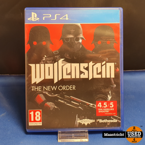 Wolfenstein The New Order - PS4 || Elders € 14.99