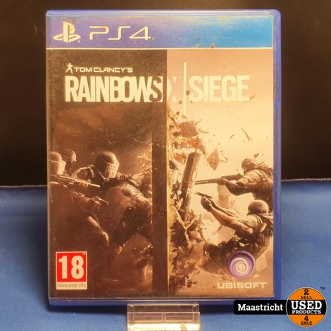 Rainbow Six Siege - PS4 || nieuwprijs € 20,-