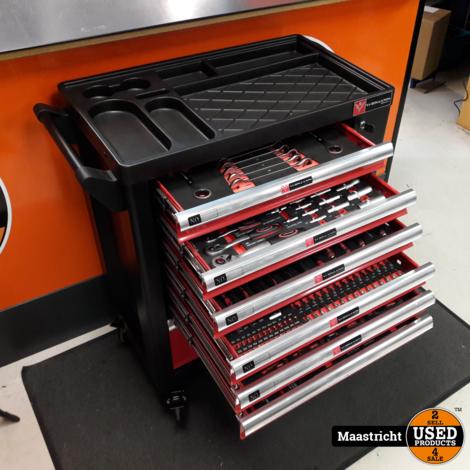 WIDMANN gereedschapkast 7 lades gevuld met professioneel gereedschap | nwpr € 1.600,-