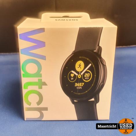Samsung Galaxy Watch Active - Zwart (nieuw in doos, sealed)