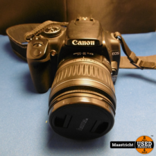 Canon EOS 400D + lens 18-55 mm.
