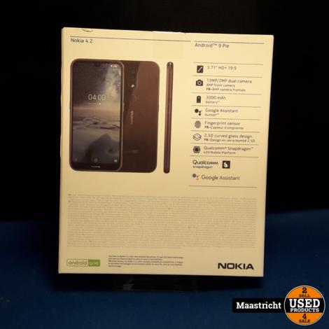NOKIA 4.2 android phone, nieuw in doos