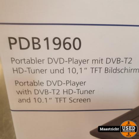 Soundmaster PDB1960 draagbare dvd-speler    nwpr. 159,- euro