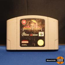 Nintendo 64 (N64) Mortal kombat