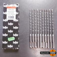 Heller SDS-Plus Hamerboor 5x100mm 10 stuks ongebruikt | nwpr. 37,- eu